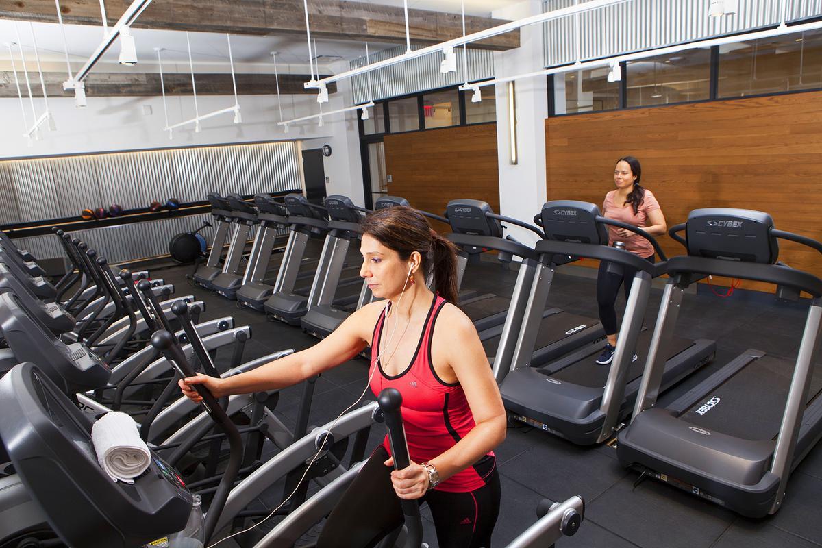 Cardio machine in gyms